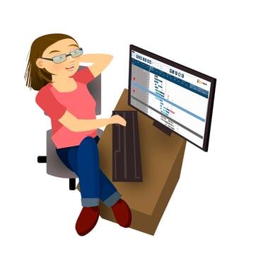 job shop scheduling benefits - full control