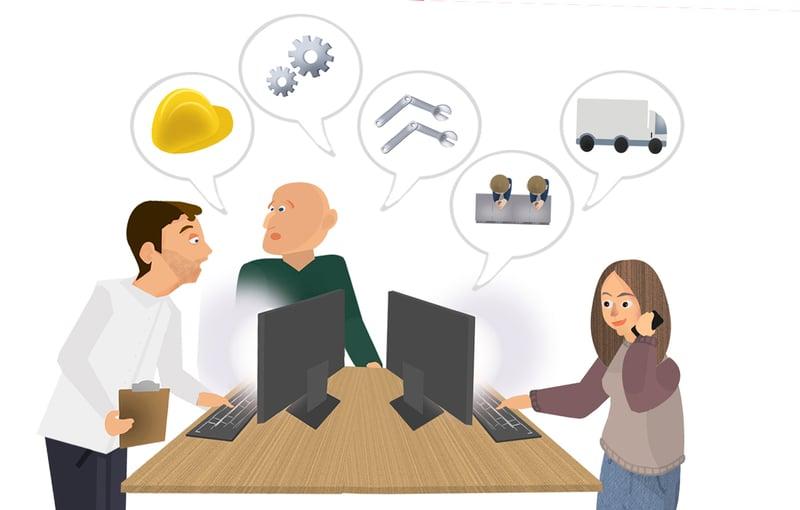 job shop scheduling best practice - teamwork