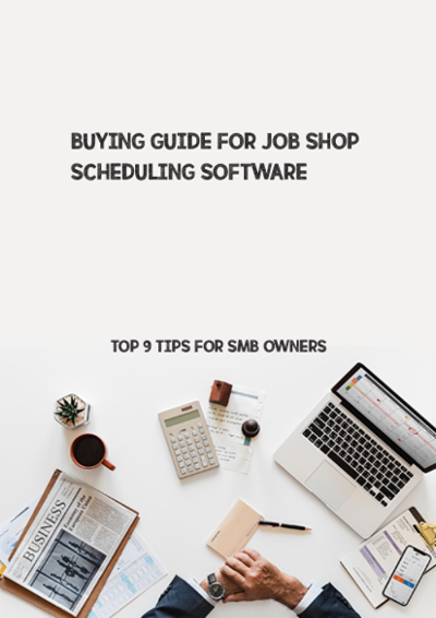 Buying guide for job shop scheduling software - Title