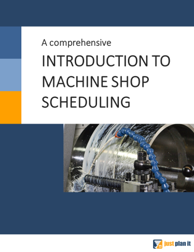 Ebook Introduction to Machine Shop Scheduling_Title