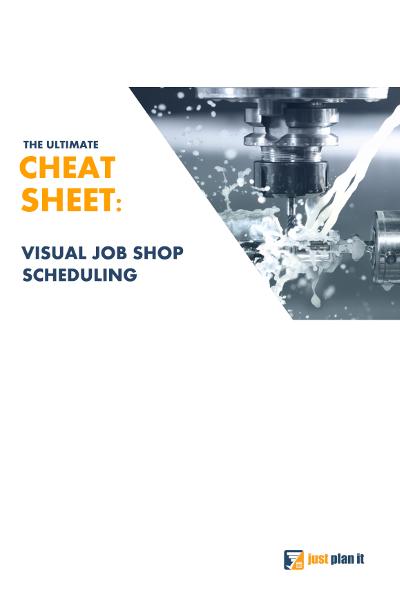 Visual Job Shop Scheduling Cheat Sheet - Title