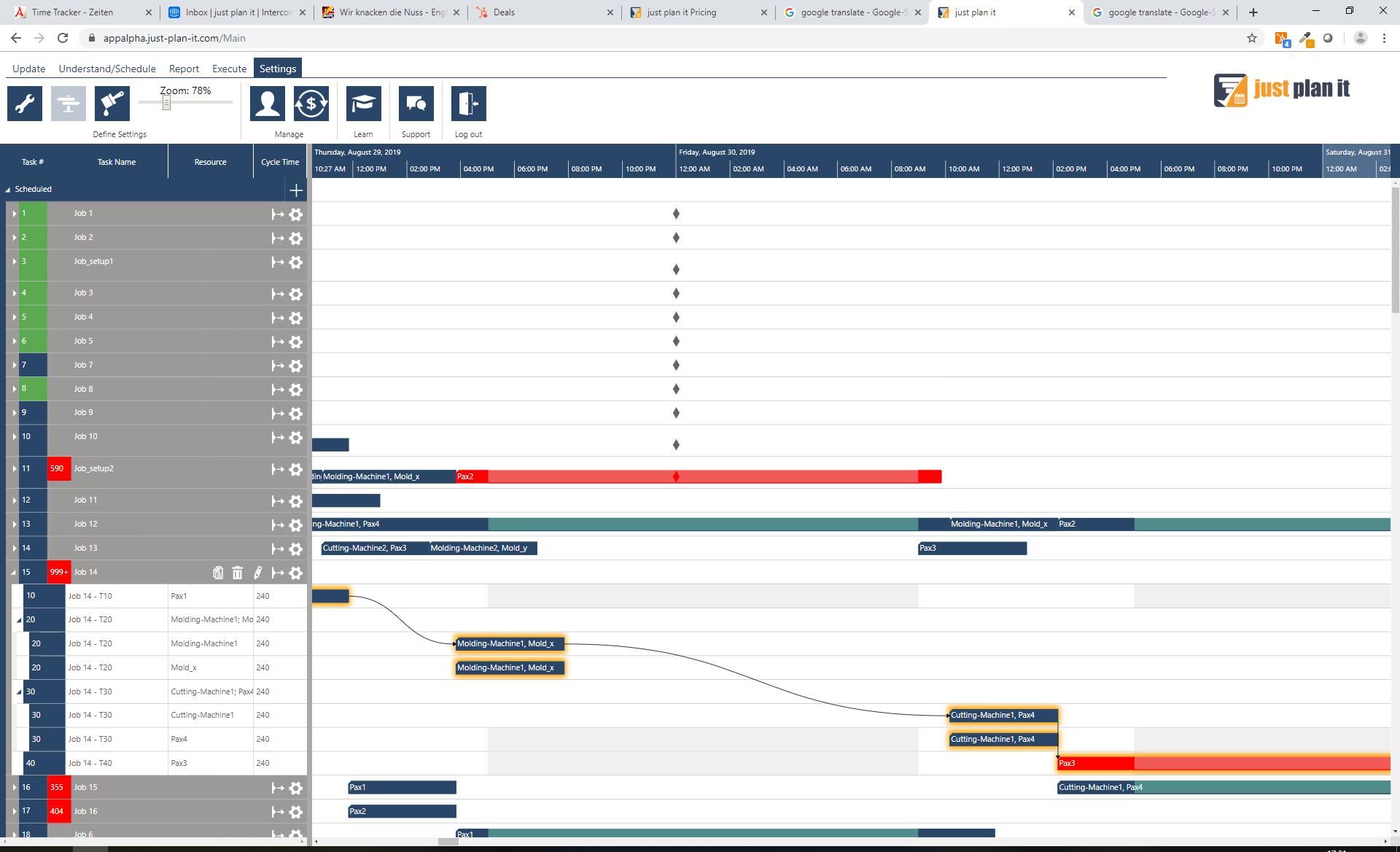 Enhanced job shop scheduling capabilities - blog - 08