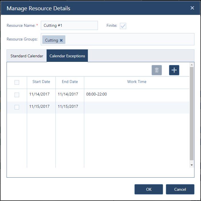 Screenshot Manage Resources Dialog - Calendar Exceptions.png