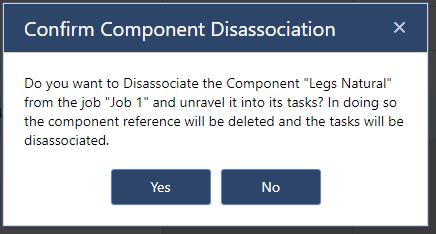 component disassociation 2