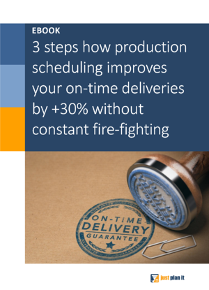 Ebook 3 Steps to Improve On-Time Deliveries_Title