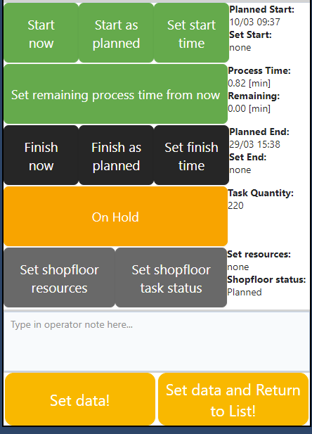 just plan it - production scheduling software - new feature