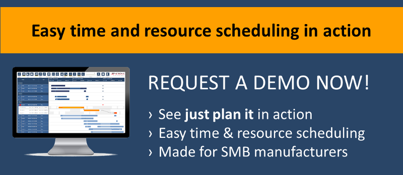 Request a demo for easy time and resource scheduling