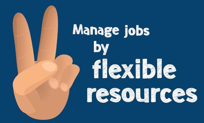How to best schedule flexible resources