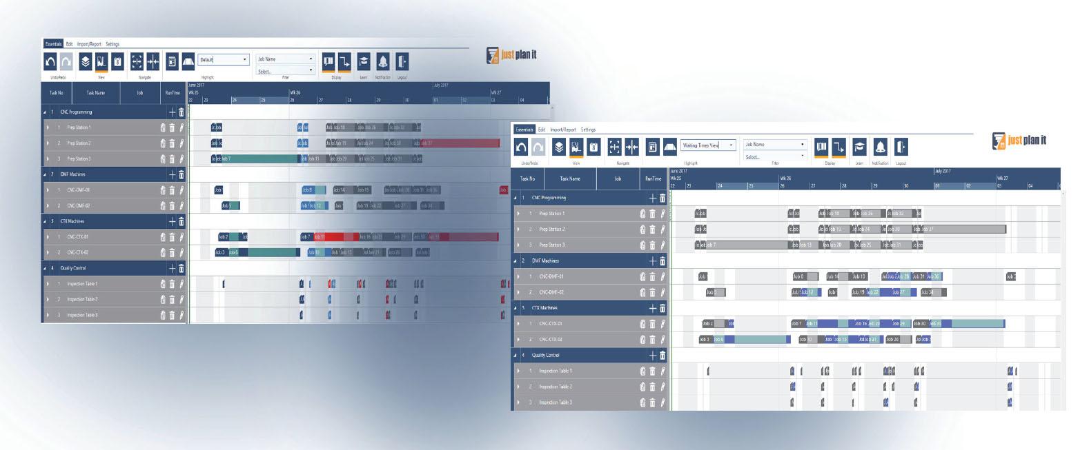 2 Killer Color Schemes For A Bottleneck Oriented Job Shop Scheduling